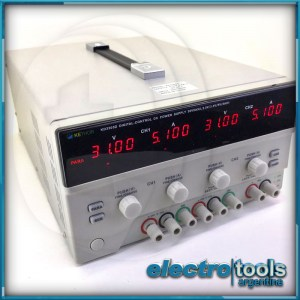 Fuente Triple De Laboratorio Regulable 30v. 5a. Kethor
